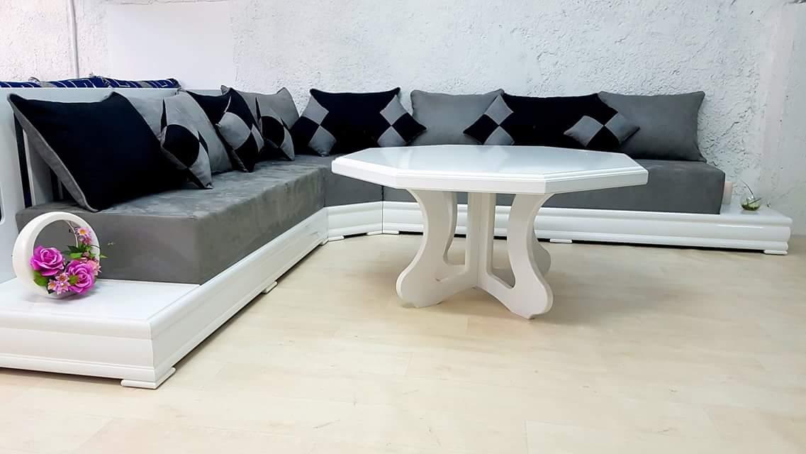 Salon Marocain Blanc : Salon marocain simpl blanc ii valence