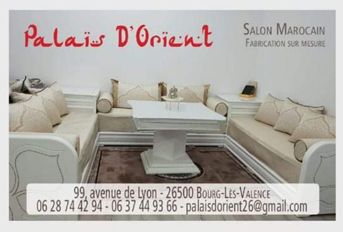 Palais Dorient Salon Marocain Valence Rhone Alpes Tel 06